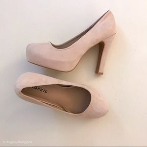 NWT Torrid Blush Pumps